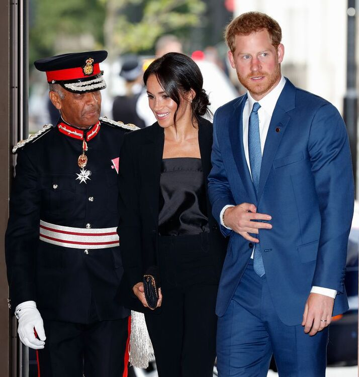 Meghan Markle and Prince Harry at WellChild Awards