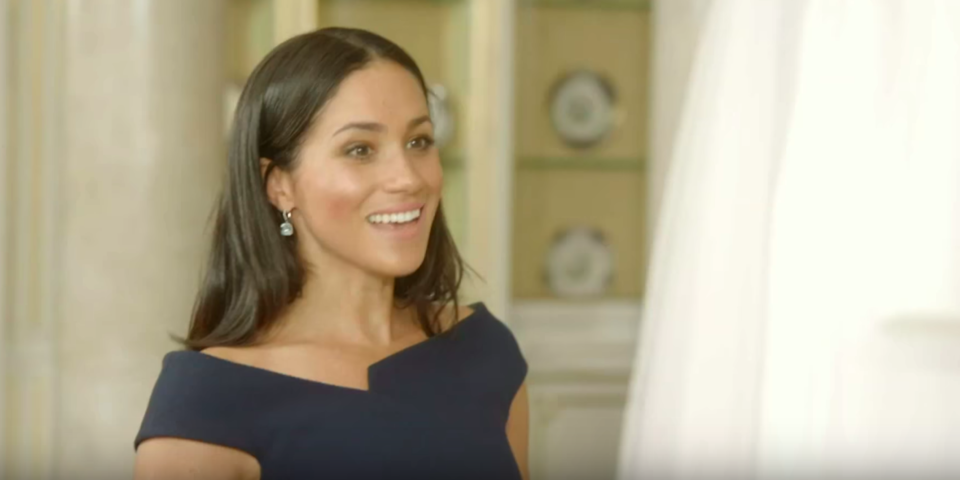 Meghan Markle Reunited With Her Wedding Dress And It Was So Precious