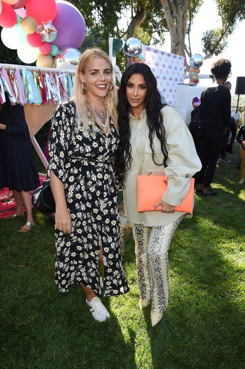 Kim Kardashian With Her Friend