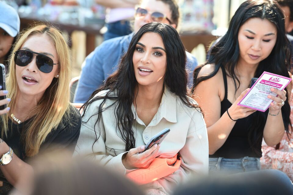 Kim Kardashian at LOL Surprise