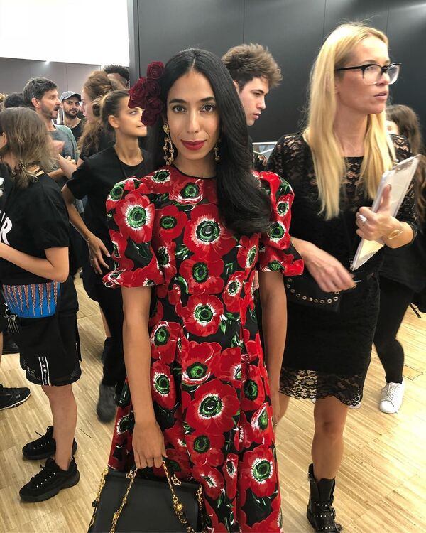 Sheikha Dana Al Khalifa Walks The Runway For Dolce & Gabbana In Milan