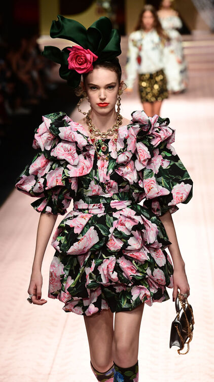 MFW: Dolce & Gabbana Champions Diversity With A Star-Studded Show