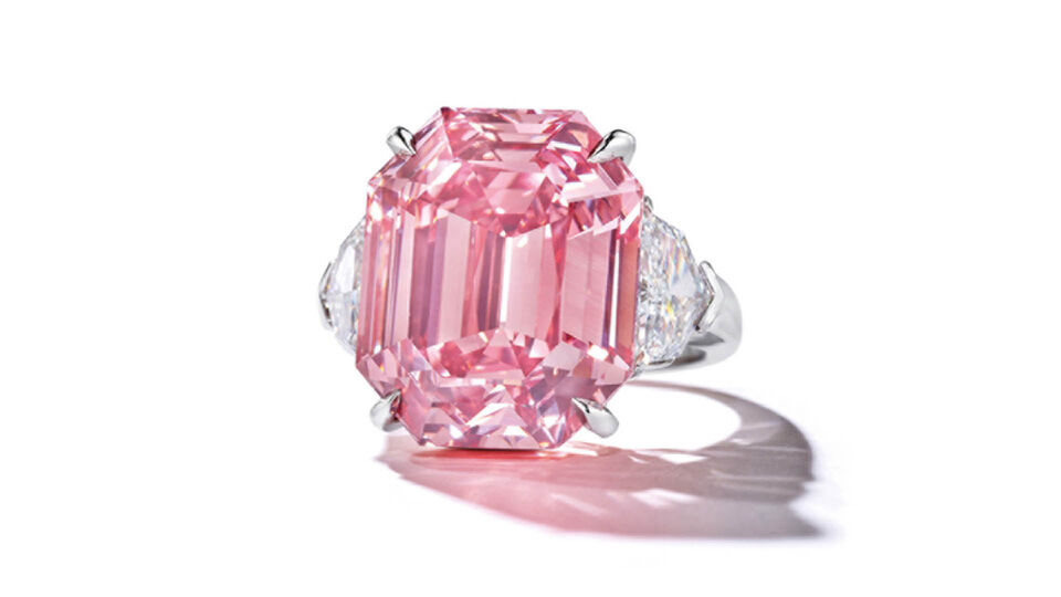 This Pink Diamond Could Sell For $50 Million