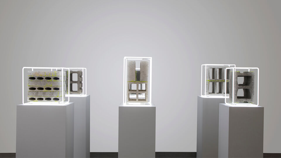 Installation view nathaniel rackowe the shape of a city