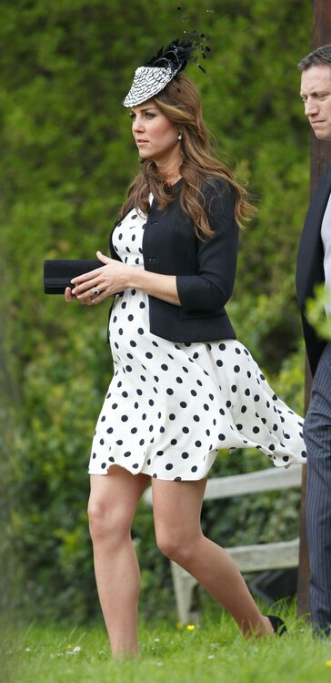 This Is What Kate Middleton Wears To Other People's Weddings