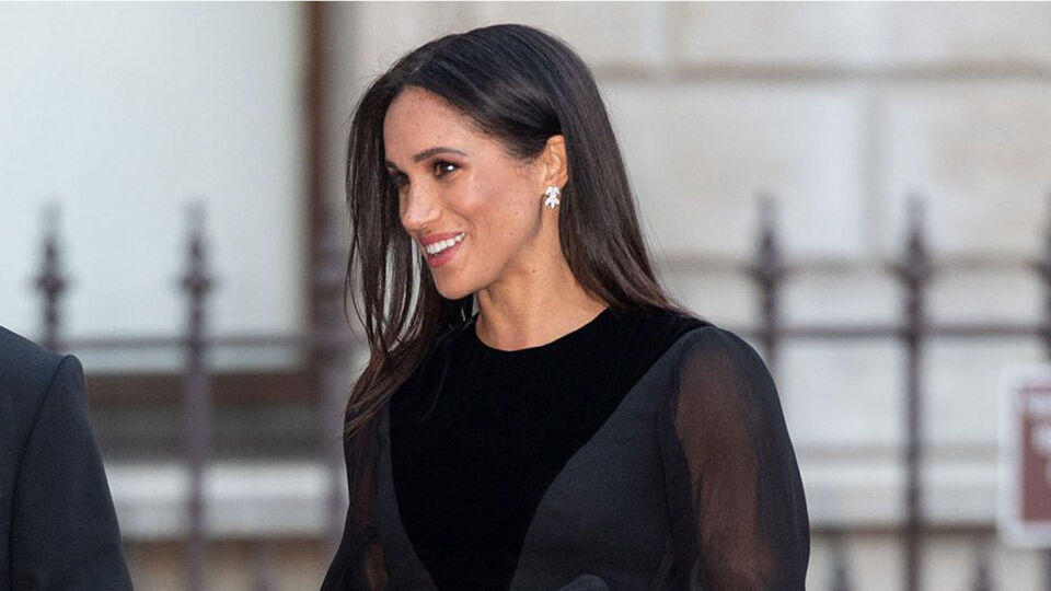 Meghan Markle Wears Givenchy For Her First Solo Royal Engagement
