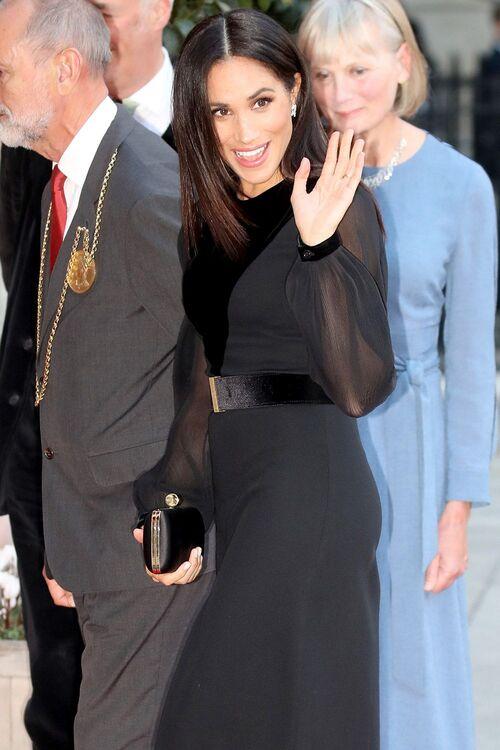 Meghan Markle Wears Givenchy