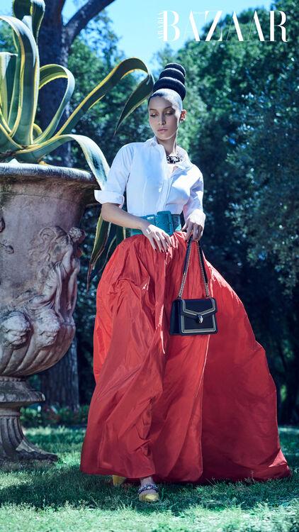 Harper's Bazaar Arabia - Bella