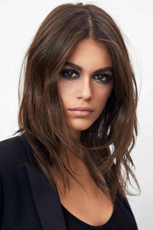 Kaia Gerber YSL Beauty