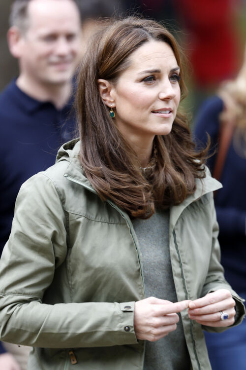Kate Middleton Sported A Fresh New Haircut On Her First Royal
