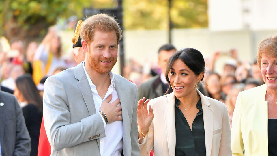 Meghan Markle Arrives In Sussex Wearing The Modest Leather Skirt Of Your Dreams