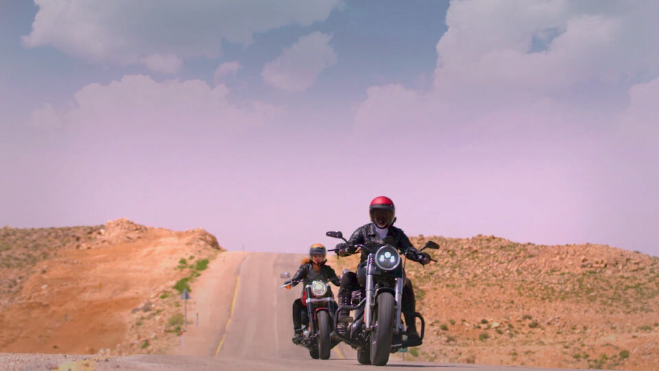 Two Arab Women Travel Across The UAE On Motorcyles In This New TV Series