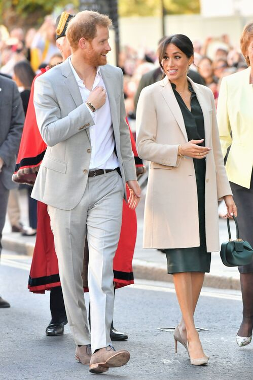 Meghan Markle and Prince Harry Visit Sussex