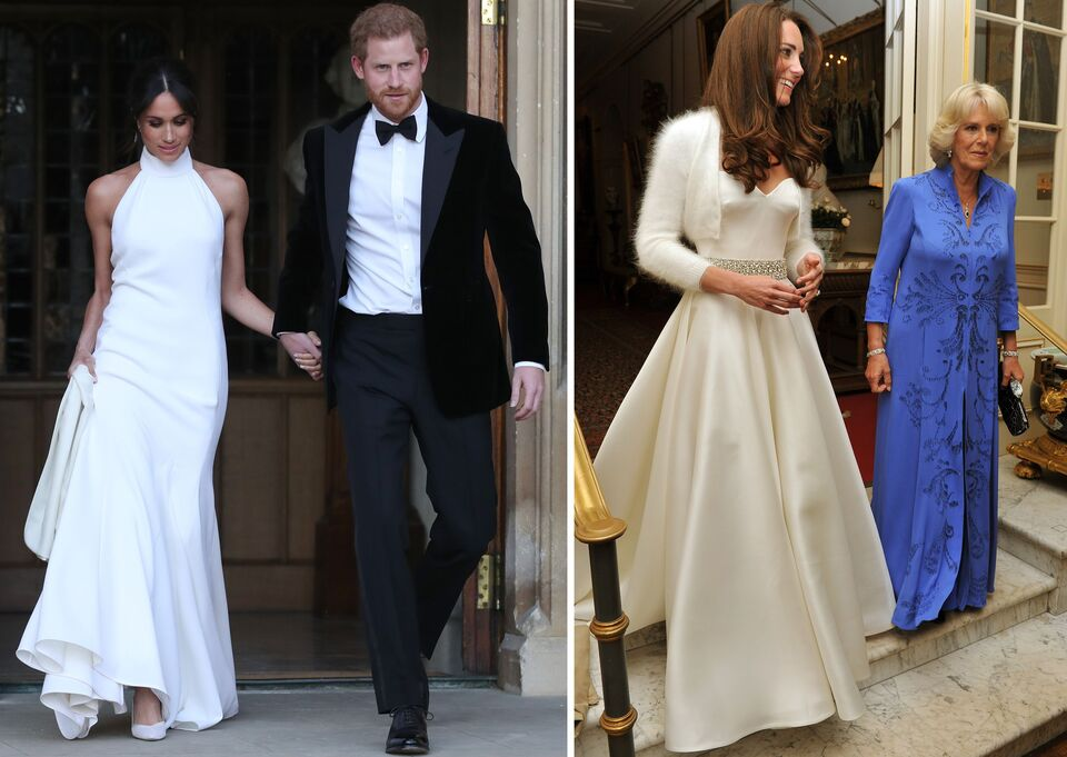 Kate Middleton and Meghan Markle Wedding Reception