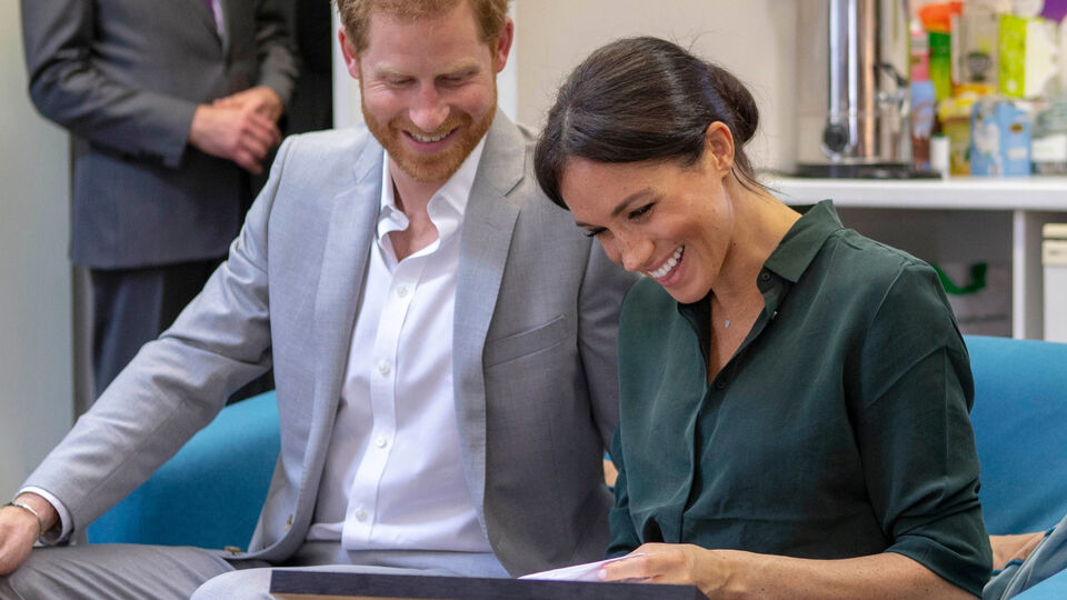 Pictures: All Of Meghan And Harry's Sweetest Moments During Their Sussex Visit