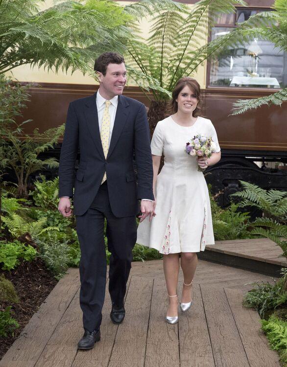 Princess Eugeine's Second Wedding Dress