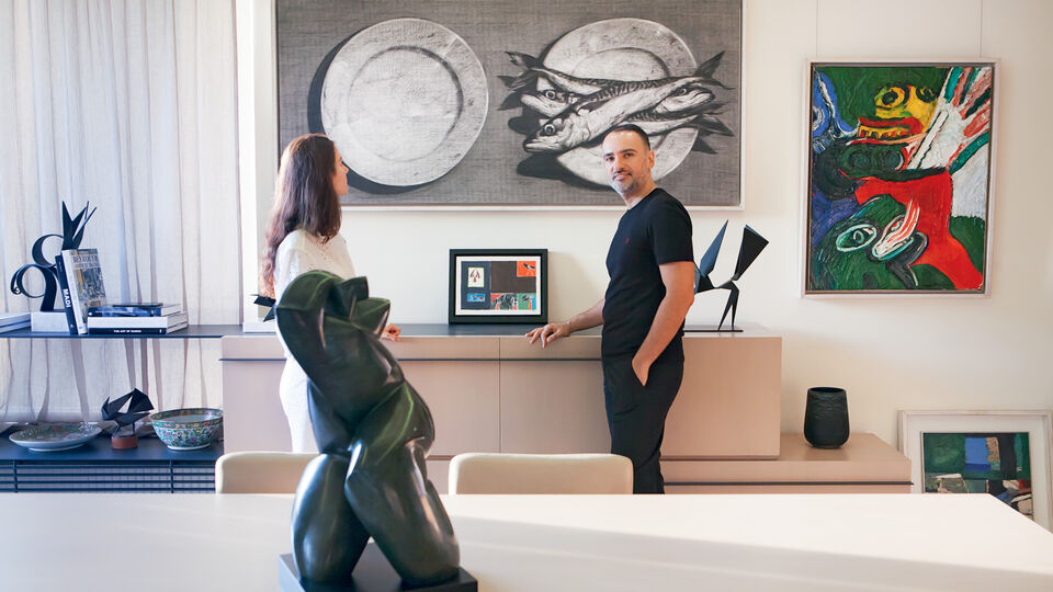 Mazen Soueid's 20-Year-Old Art Collection Covers Over 40 Middle-Eastern And International Artists