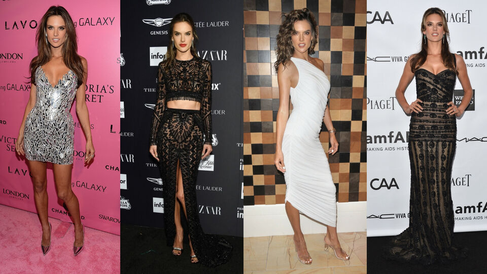 8 Times Alessandra Ambrosio Has Slayed In A Gown From A Middle Eastern Designer