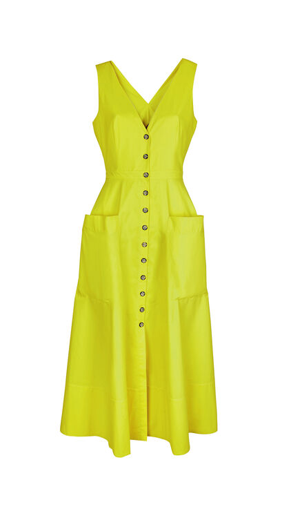 The Best Neon Yellow Pieces That Stood Out On The Runway