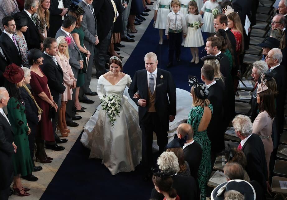 Princess Eugenie's Wedding Dress From Every Angle