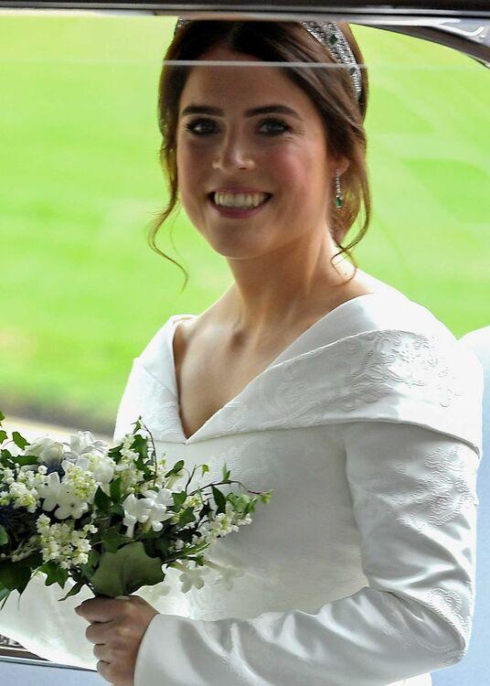Princess Eugenie's Wedding Dress From Every Angle