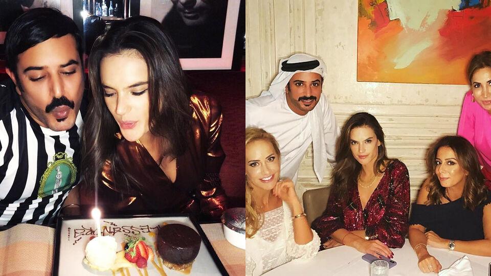Inside Alessandra Ambrosio's Glamorous Dubai Trip