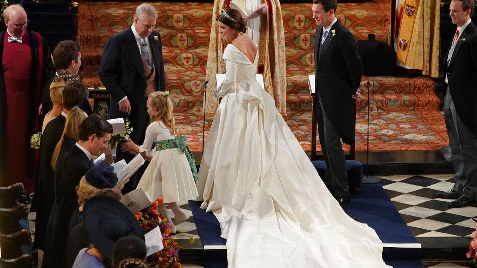 Meet The Designer Behind Princess Eugenie's Wedding Gown
