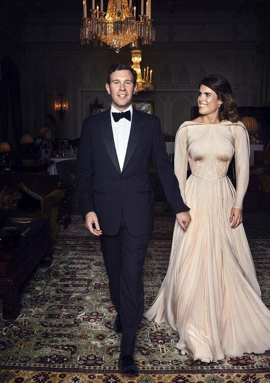 Princess Eugenie Jack Brooksbank Official Potraits