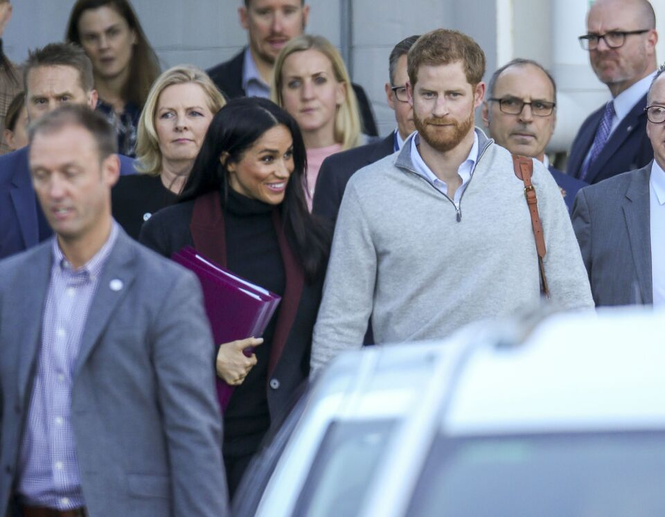 Meghan Markle and Prince Harry on First Royal Tour