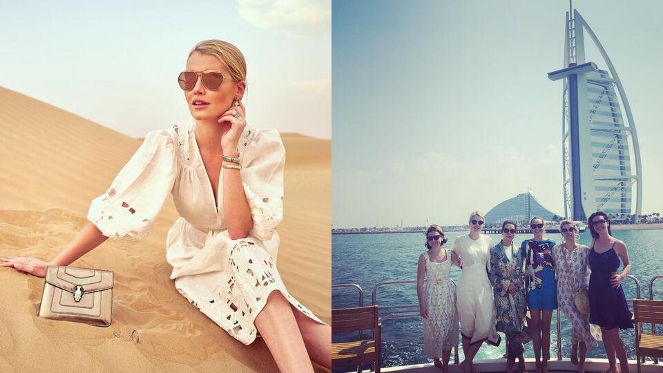Inside Lady Kitty Spencer's Dubai Trip