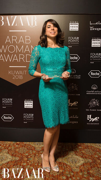 Pictures: All The Winners At Arab Woman Awards