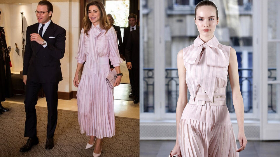 Queen Rania Works Her Modest Magic On This Ralph & Russo Runway Dress