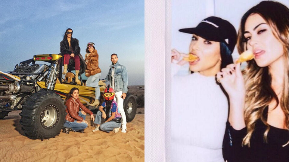 5 Places Kim Kardashian Goes When She's In Dubai
