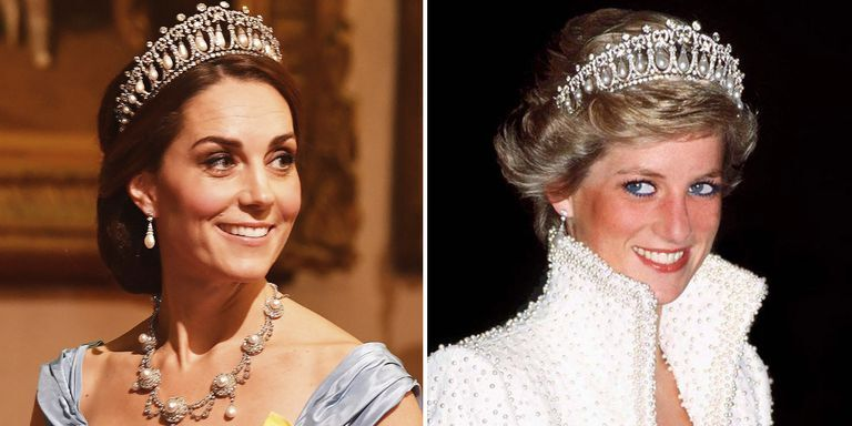 Kate Middleton Wore Princess Diana's Favourite Tiara At The State Banquet