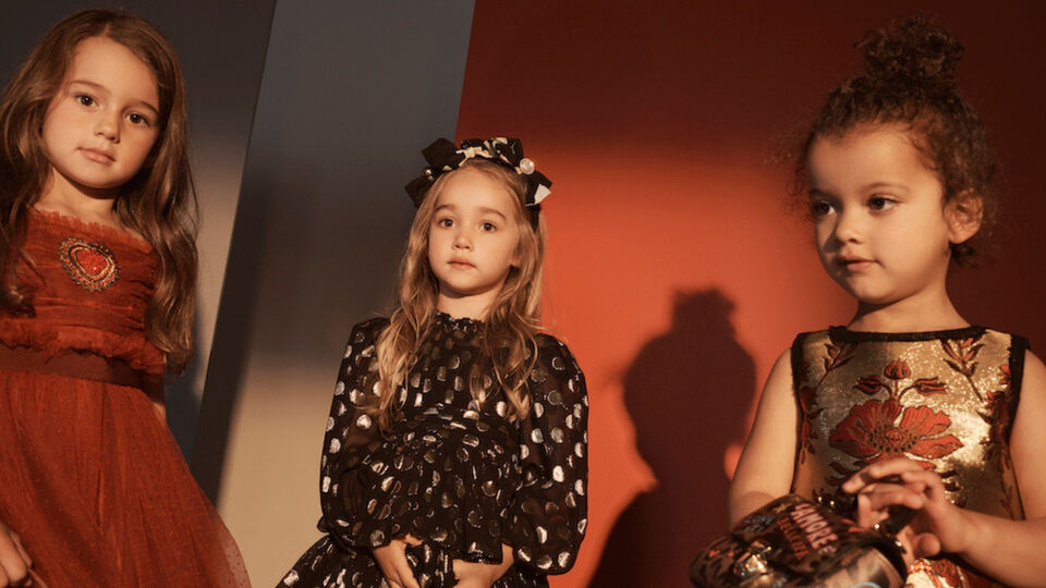 Net–A–Porter Drops A Festive Kids Collab With Dolce & Gabbana For Party Season