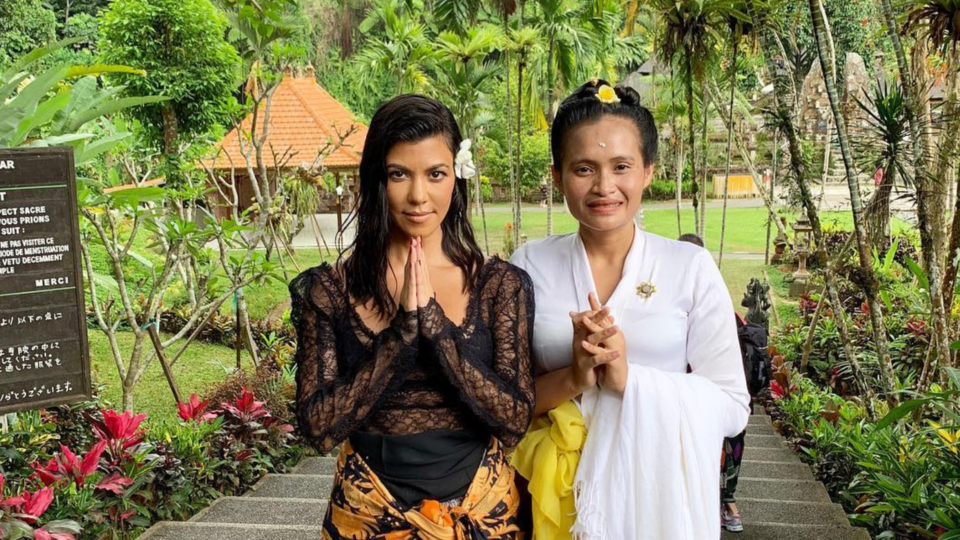 Luckily For Us The Kardashians Didn't Take A Digital Detox On Their Bali Trip
