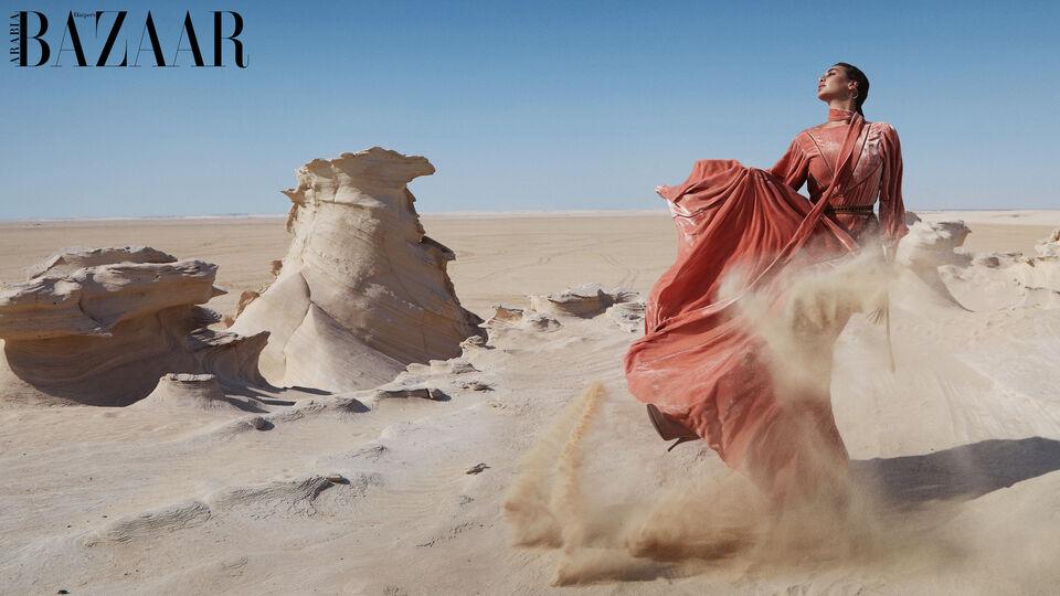 Yasmine Sabri for Harper's Bazaar Arabia