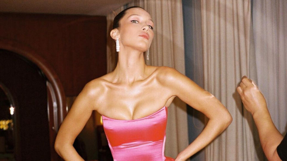 This Is Exactly What Bella Hadid Keeps In Her Fridge