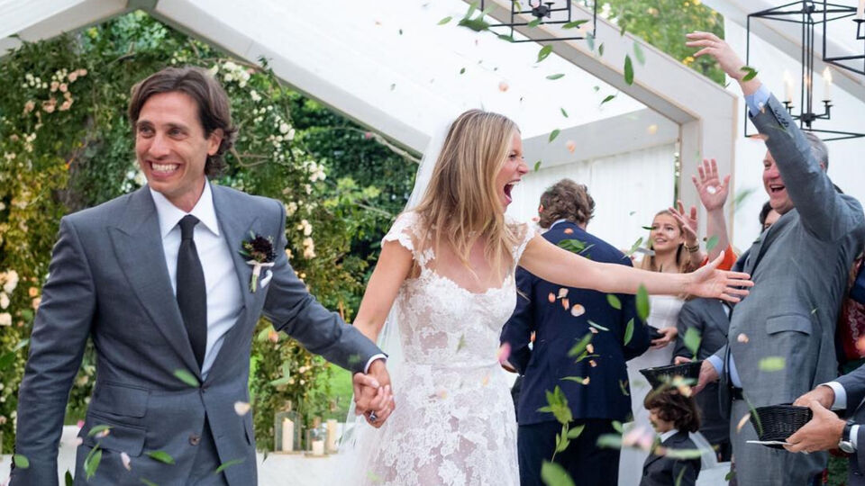 Gwyneth Paltrow's Beautiful Wedding Photos Are Here