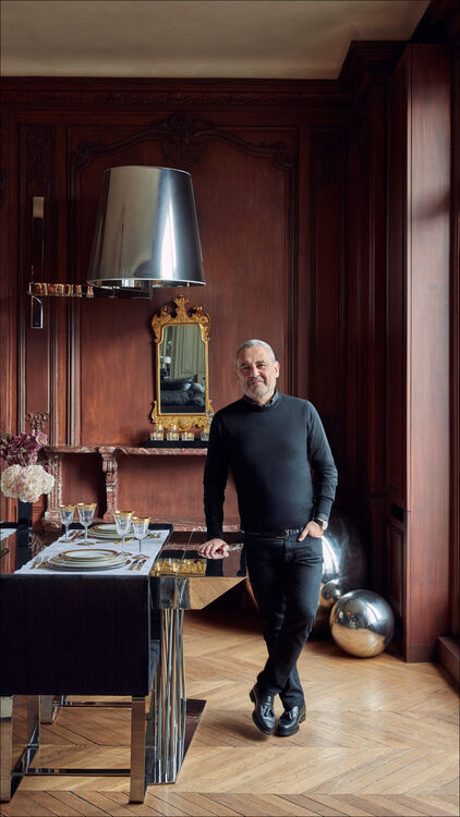 Step Inside Lebanese Designer Elie Saab's Magical Parisian Home