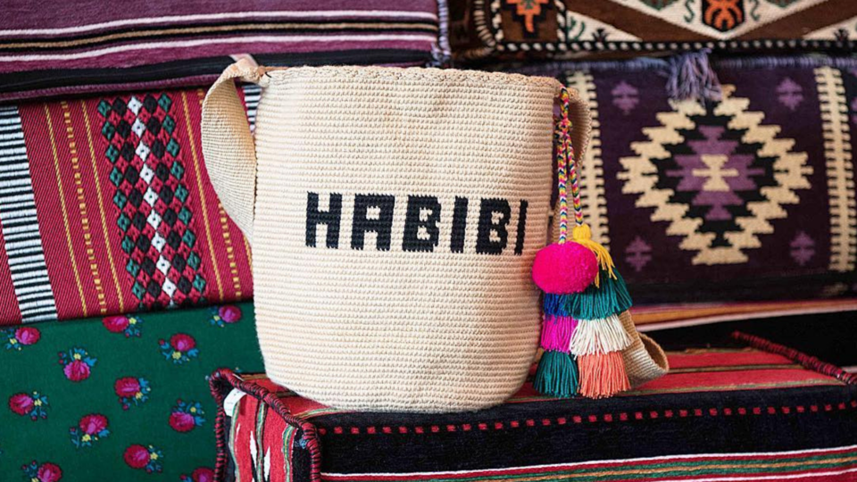 """These New """"It"""" Bags Have A Cool Arabic Twist"""