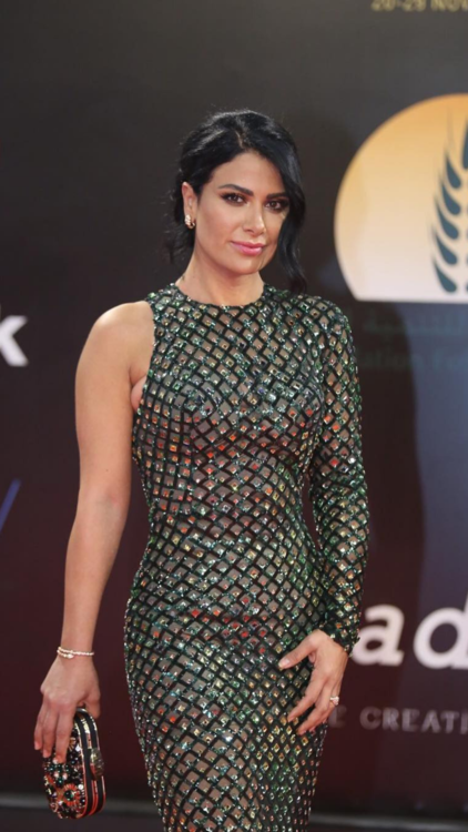All The Celeb Fashion Highlights From Cairo International Film Festival 2018