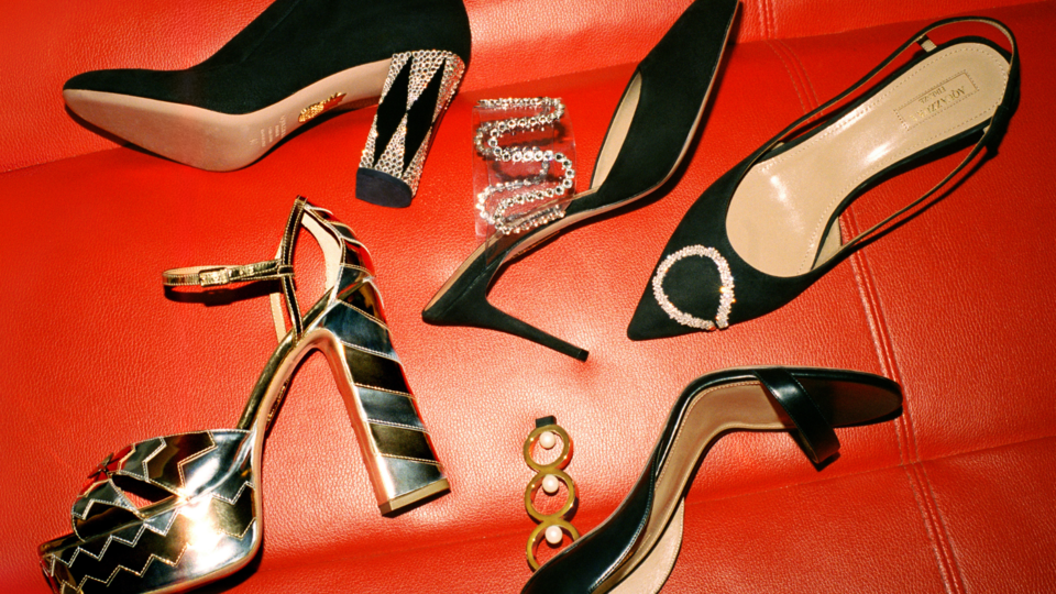 Aquazzura Collabs With This Lebanese Jeweller On A Glitzy Holiday Collection