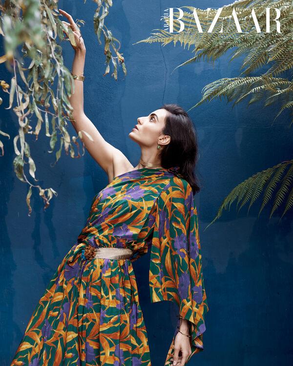 December Cover: Inside The Bicultural World Of Saudi-British Actor Aiysha Hart