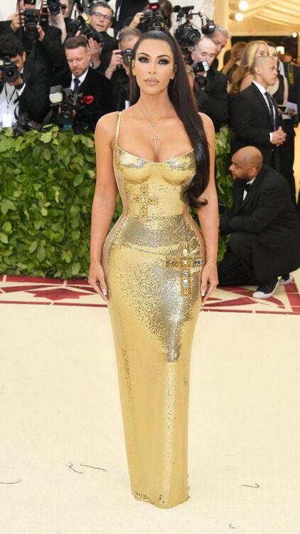 Kim Kardashian's 2018 Met Gala Look