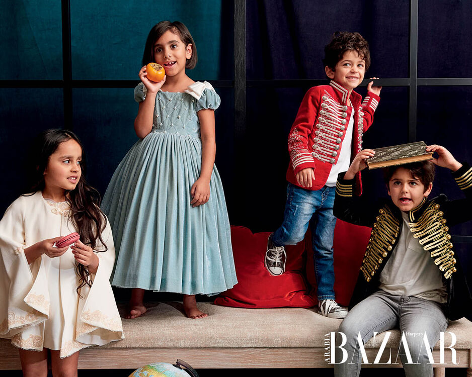 Play Dress Up With Bibiona's Festive Couture Designs For Little Ones