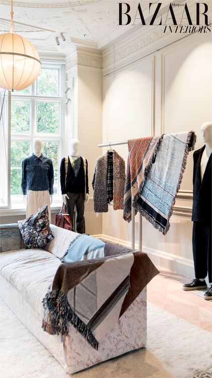 Rawan Bin Hussain Tours MATCHESFASHION.COM's new London retail space at 5 Carlos Place