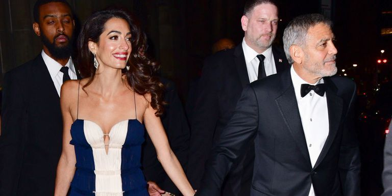 Amal Clooney Accepts The UN's Global Citizen Award And Calls Out Trump All In One Evening