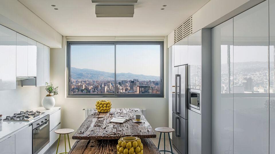 Under The Beirut Sun: A Step Inside Ziad Nasser's Dreamy Beirut Penthouse