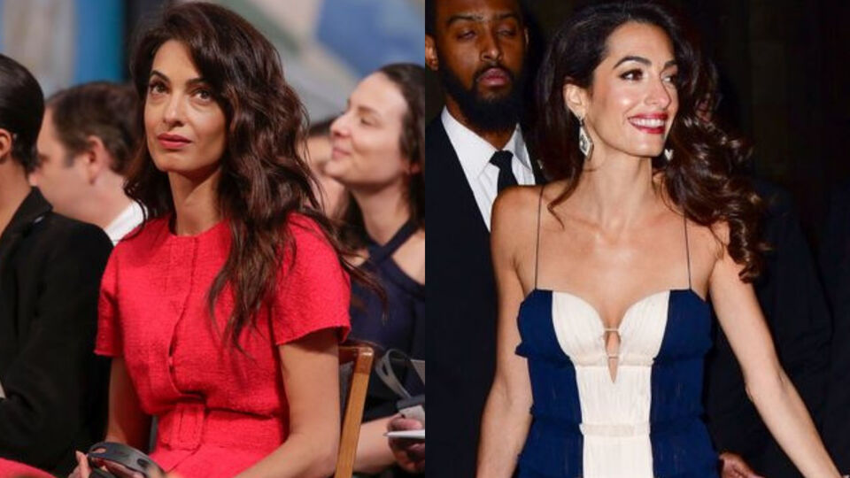 Amal Clooney Treats Us To Two Looks In One Week